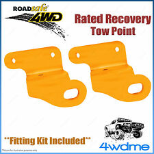 Mitsubishi Triton ML MN 4WD Roadsafe Rated Recovery Heavy Duty Tow Points Kit