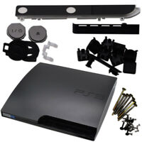 External Housing Shell Chassis Body For PlayStation 3 Slim PS3 Replacement Black