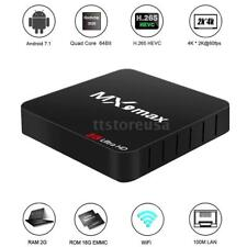MX9 max RK3328 Smart Quad Core 16GB Android 7.1 TV BOX 17.2 4K Media Player X6M3