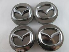 MAZDA  CHROME USED!!!  CUSTOM WHEEL CENTER CAP*/ACCESSORIES #0S2874  (4)