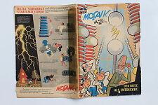 original MOSAIK Hannes Hegen Nr. 32 DEr Blitz als Entdecker JULI 1959 COMIC DDR
