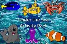 Sotto il mare attività Pack-comprende i piani di attività e le valutazioni di esempio!