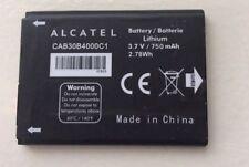 ALCATEL CAB30B4000C1 BATTERY FOR ONE TOUCH OT-255 OT-600A OT-383A OT-206 750mAh