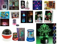 Kids Sensory Autism Calming Night Lamp Light Projector Light Xmas Gift Lights