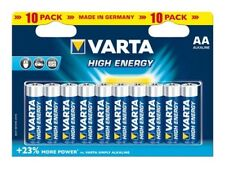 Varta High Energy Micro Alkaline AA Batterie 10er Set