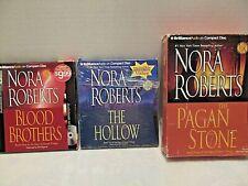 "Nora Roberts ""The Sign of Seven Trilogy"" Audio CD books 1 thru 3 Abridged"