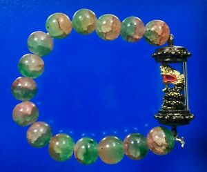 Naga Bracelet Mantra Beads Srisuttho Talisman Cloth Jewelry Thai Buddhist Amulet