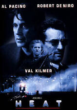 Heat DVD Crime Drama Action Police Cops Al Pacino Widescreen Rated R Val Kilmer