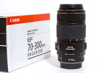 Canon EF 70-300mm f/4-5.6 IS USM / Canon ET-65B Lens Hood / B+W UV-filter / OVP