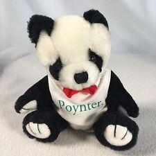 Poynter Institute Plush Panda Bear Steve Smith Stuffed Animals 5 1/2 Inches Tall