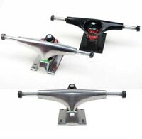 2 Pièces Skateboard Truchs Skateboard Skate Truchs Rplacement Argent Noir