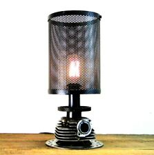Harley Rough Rider MotorcycleTable Lamp Hand Crafted Steampunk