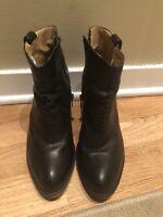 FRYE Boots, Black, Size 8.5
