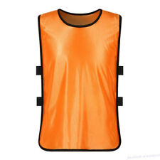 1pc Orange Team Training Scrimmage Soccer Football Pinnies Sport Child Vest Tops
