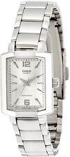 Casio LTP1233D-7A Ladies Silver Analog Watch Stainless Steel Quartz Dress New