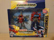 Transformers Cyberverse Power of the Spark Optimus Prime & Starscream figur Set