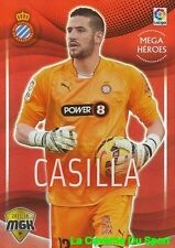 214 CASILLA ESPANA RCD.ESPANYOL MEGA HEROES CARD MEGACRACKS 2016 PANINI