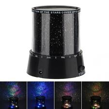 Amazing Sky Star Master LED Cosmos Laser Projector Lamp Night Light Black Color