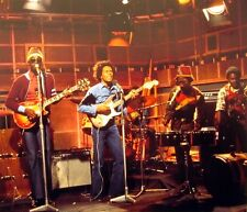 BOB MARLEY reggae Wailers clipping Old Grey Whistle Test color live photo 1973