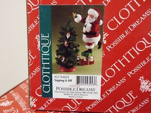 """POSSIBLE DREAMS -- CLOTHTIQUE -- """"TOPPING IT OFF"""""""