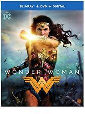 Wonder Woman (2017) Blu-Ray + DVD + Digital (Brand New)