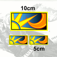X3 Valentino Rossi Sticker Sol Y Luna Vinilo calcomanía 2013 (v2grad)
