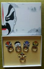 Chinese Opera 3M Mobile Rings 5 Designs Collection Box Set Gift