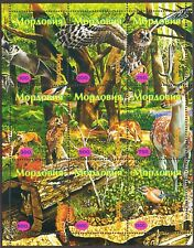 Mordovia (Russia Local) Fauna Birds Owls Rabbit Fox Sheet MNH** Privat