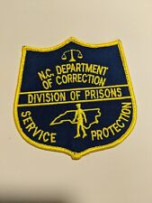 N.C. Prison Patch: N.C. Department of Correction Division of Prisons