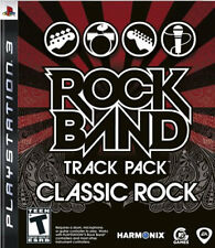 Rock Band Track Pack: Classic Rock PS3 New Playstation 3