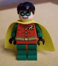 Lego Batman-Robin-short hair-capa amarilla-figuras minifigs nuevo