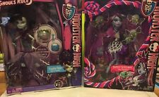 2 Monster High Dolls Sweet Screams Abbey Bominable / Frankie Stein Ghouls Rule