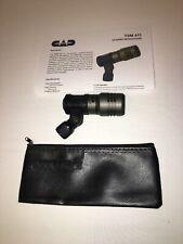 CAD TSM411 Dynamic Mic Professional Drum Tom Cajon Microphone+Shure SM57/58 Case