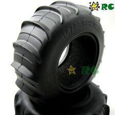 2pcs RC Sand Storm Paddle 2.2 Tires OD 114mm Fit RC 4WD Rock Crawler 2.2 wheels