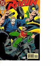Lot Of 8 Robin DC Comic Books #2 11 13 14 17 18 22 29 Superman DC1