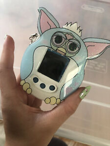 tamagotchi on fairy blue With Case