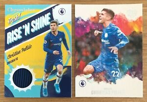 2019-20 CHRONICLES CHRISTIAN PULISIC PITCH KINGS RISE N SHINE JERSEY PATCH LOT