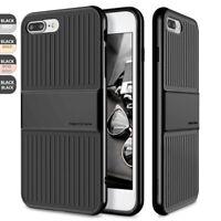 For Apple iPhone 8/7 Plus Travel Suitcase Design Slim Hybrid Shockproof Case