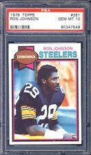 1979 Topps Football #351 Ron Johnson PSA 10