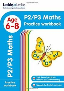 P2/P3 Maths Practice Workbook: Extra Practice for CfE Primary School English (Le