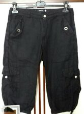 Bermuda Nero Pantalone Cargo Uomo Taglia 44 IMPERIAL MAN SHORT BLACK CARGO PANTS