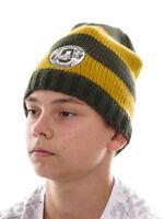 O` Neill Bonnet Tricoté Bonnet de Ski Garçons Tous Year Vert Tricot Rayures