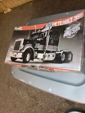 revell peterbilt 359 black magic truck model new in box