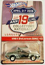 Hot Wheels 19th Annual Collectors Nationals 1981 DeLorean Dmc-12