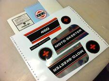Moto-Skeeter  STRIPE KIT mini bike minibike decal sticker wards gilson