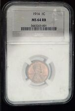 1914 Lincoln Cent NGC MS64 BN  (C8028)