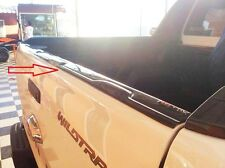 BACK REAR TAILGATE COVER TRIM ABS FORD RANGER T6 12 13 14 XL PX XLT WILDTRAK