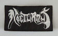 NOCTURNUS Band Logo (Embroidered Patch) (New)