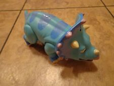 2010 LEARNING CURVE--DINOSAUR TRAIN--TALKING TANK THE TRICERATOPS FIGURE (LOOK)