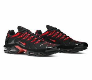 Nike Air Max Plus Bred Mens Size 8 - 13 CU4864-001 Black University Red NEW Run